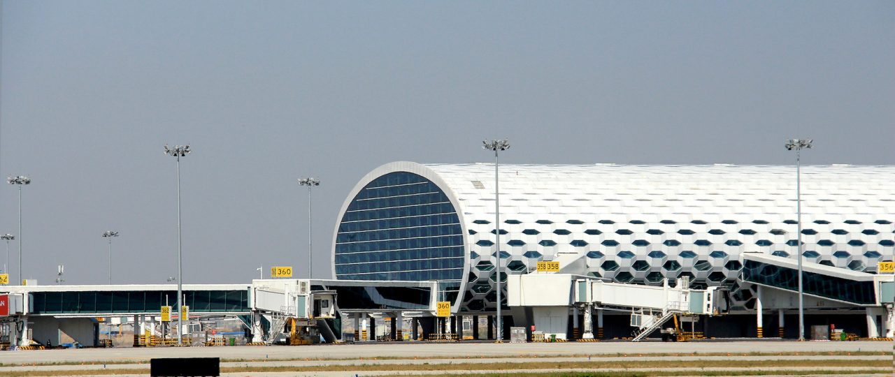 深圳宝安国際空港の外観